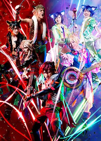 SHOW BY ROCK!!  MUSICAL~唱え家畜共ッ!深紅色の堕天革命黙示録ッ!!