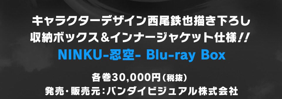 キャラクターデザイン西尾鉄也描き下ろし収納ボックス&インナージャケット仕様!! 忍空 Blu-ray Box