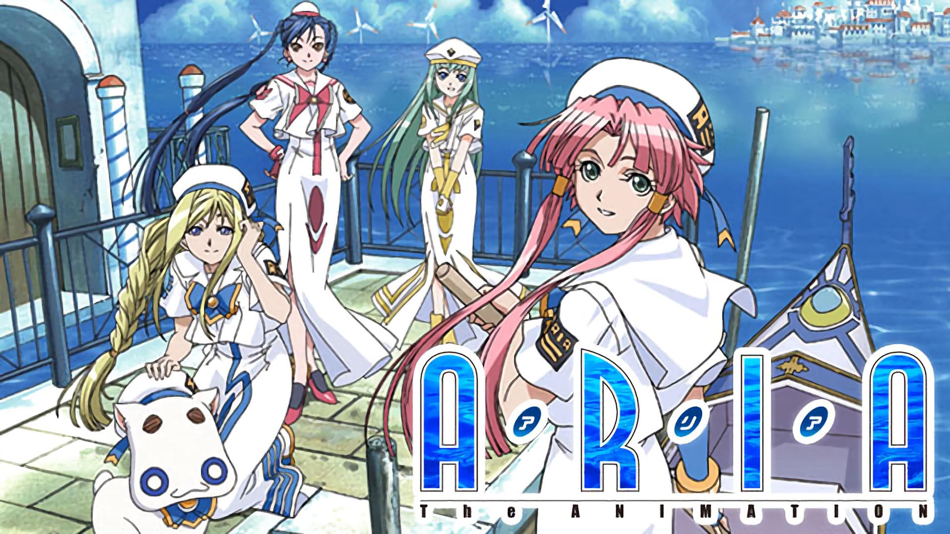 ARIA The ANIMATION | アニメ動画見放題 | dアニメストア