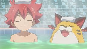 お風呂でアッチッチ!