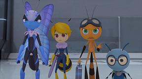 戦慄!プランツドームの真実/ロボット昆虫を追え!