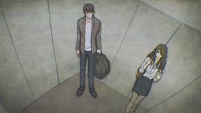 エレベーターの女